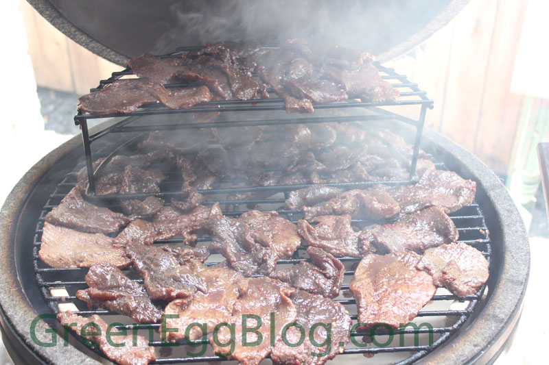 Big Green Egg Beef Jerky