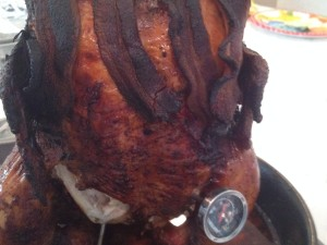BGE Whole Roasted Chicken Recipe