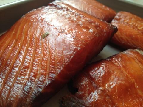 Smoking Salmon on the Big Green Egg